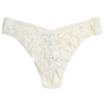 Hanky Panky Signature Lace Original Thong - Ivory