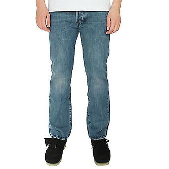 Levis 501 original men's tissue straight leg jeans