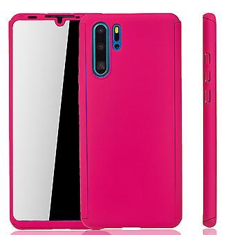 Huawei P30 Pro case sag telefon cover beskyttende sag 360 Full Cover Armor film