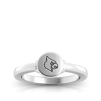 University Of Louisville Engraved Sterling Silver Signet Ring
