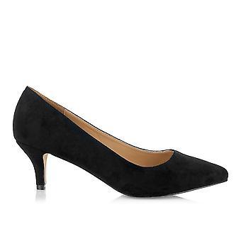 Grøn park sorte sko