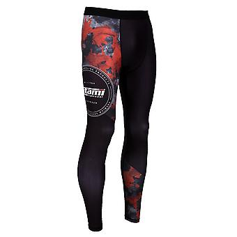 Tatami Fightwear Renegade Camo Spats Black/Red