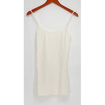 G.I.L.I. got it love it Women's Top Cami Adjustable Straps Ivory A263312