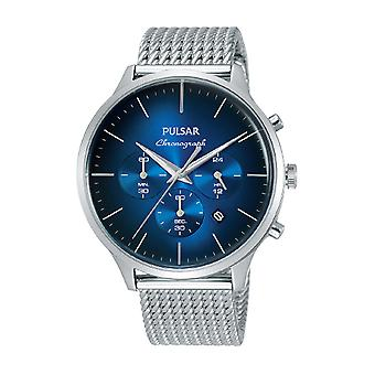 Pulsar business Quartz Analog Man Watch with PT3893X1 Stainless Steel Bracelet