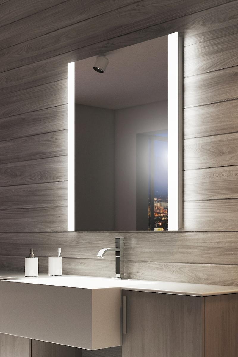 Ambient Audio Double Edge LED Bathroom Mirror k1115vWaud