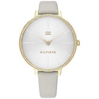 Tommy Hilfiger-Portugal | Mulheres ' s Kelly | Bracelete em pele cinzenta | Mostrador cinzento/branco | 1782110 relógio