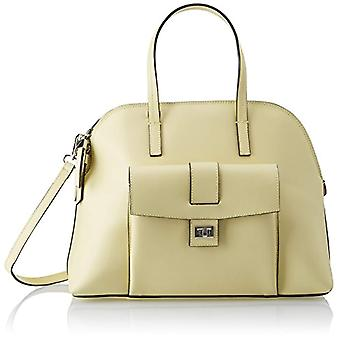 Chicca Bags 8617 Women's handbag Yellow 38x30x13 cm (W x H x L)