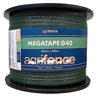 Agrifence Megatape G40 Verstärktes Klebeband