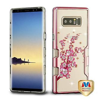 MYBAT Metallic Rose Gold/Spring Flowers Diamante TUFF Panoview Hybrid Protector Cover for Galaxy Note 8 MYBAT Metallic Rose Gold/Spring Flowers Diamante TUFF Panoview Hybrid Protector Cover for Galaxy Note 8 MYBAT Metallic Rose Gold/Spring Flowers Diamante TUFF Panoview Hybrid Protector Cover for Galaxy Note 8 MYBAT