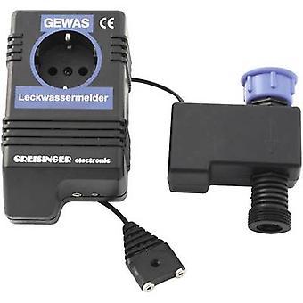 Greisinger 601910 Water leak detector incl. external sensor mains-powered