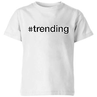 trending Kids' T-Shirt - White