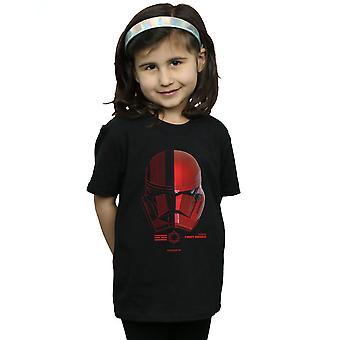 Star Wars The Rise Of Skywalker Sith Trooper Helmet Girls T-Shirt
