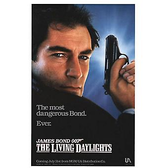 The Living Daylights (Single Sided Advance) Original Cinema Poster