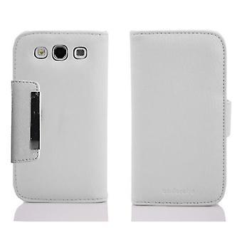 Cadorabo case voor Samsung Galaxy S3 / S3 NEO case case cover - telefoon hoesje met kaartvak en magnetische sluiting in slank ontwerp - Case Cover Beschermhoes Boek Vouwen Stijl