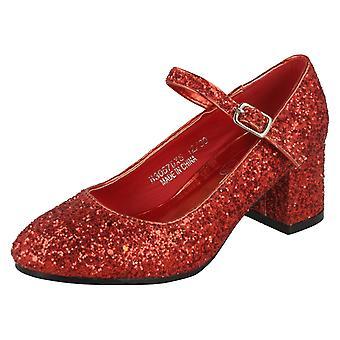 Девочек пятно на H3057 обувь на каблуке Sparkley Долли
