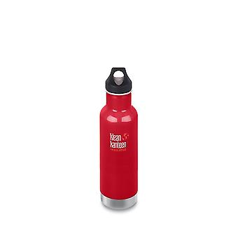 Klean Kanteen 592ml Classic Vac Insulated Bottle Mineral Red