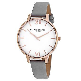 Olivia Burton Women's Classic White Dial Watch - OB16BDW16