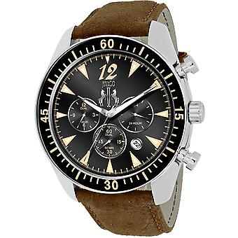 Jivago Men's Timeless Black Dial Watch - JV4513