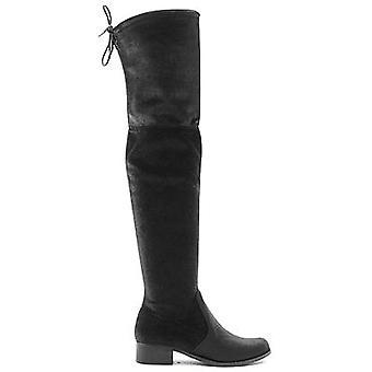 Charles David Charles Women's Owen Fashion Boot Black Velvet,9