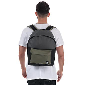 Nicce Taroo Live Backpack In Olive- One Main Zip Compartment- Zip Pocket To