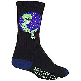 Chaussettes - Sockguy - 6'quot; Crew Probe S/M Cycling/Running