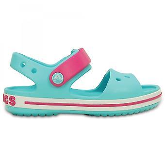 Crocs 12856 Crocband Sandal børne sandaler pool/Candy pink
