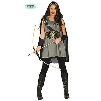 Guirca Arquera Archer costume for ladies Carnival of medieval Hunter