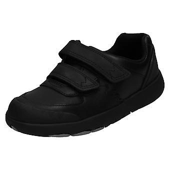 Мальчики Кларкс Smart Формальная школа обувь Рекс Пейс