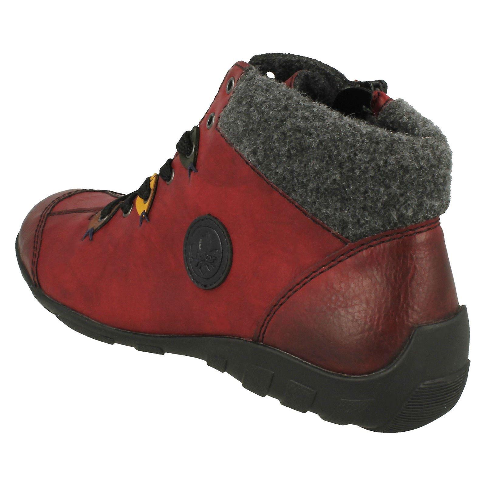 Ladies Rieker Casual Ankel Boots L6513