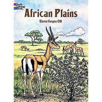 African Plains Coloring Book by Dianne Gaspas Ettl