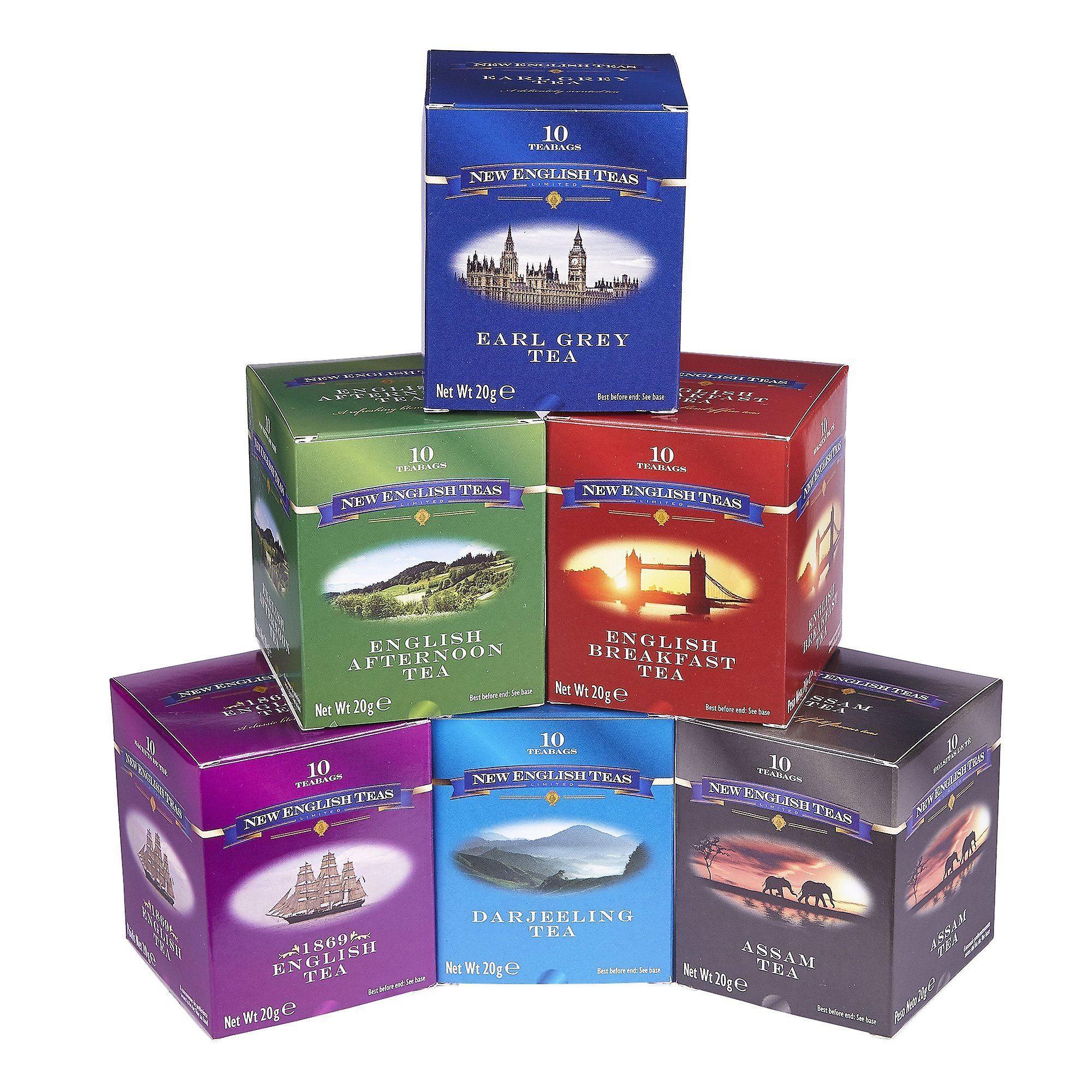 English classics six tea gift pack
