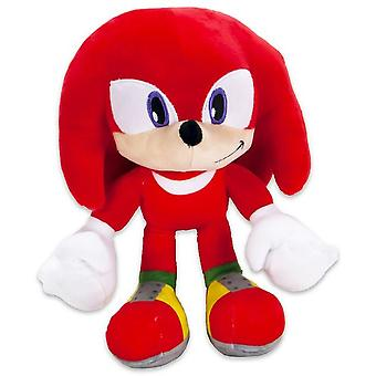 Sonic The Hedgehog Knuckles Stuffed Animal Plush Soft ice animal 28cm