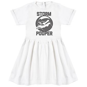 Storm Pooper - Baby Dress