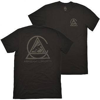 Arrogant Bastard Men's Black Arrogant Consortia T-Shirt