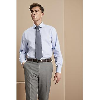 SIMON JERSEY Coloured Tie, Charcoal