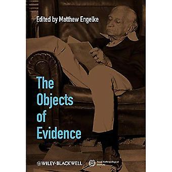 Die Objekte der Beweis: anthropologische Ansätze für die Produktion von Wissen (Journal der Royal Anthropological Institute Sonderausgabe Buchreihe)
