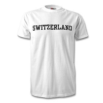 Sveitsi maan Lasten t-paita