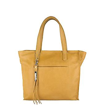 Legend DARUTO-A Yellow Women's shoulder bag (yellow (oker 0121)) 10x32x40 cm (B x H x T)