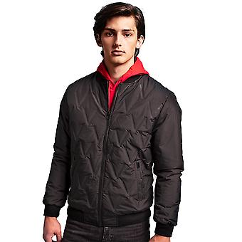 Outdoor Look Mens Vector Moulded Padded Bomber Jacket