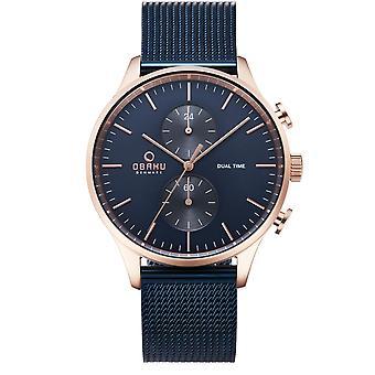 Obaku Gran Ocean Men's Wristwatch V196GUVLML