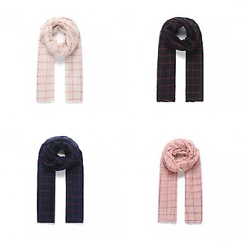 Intrigue Womens/Ladies Graph Check Scarf