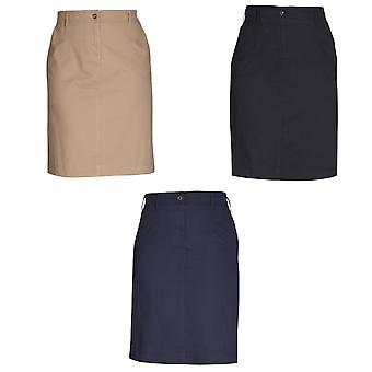 Brook Taverner Womens/Ladies Austin Chino Skirt