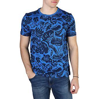 Tommy Hilfiger Original Men Printemps/Été T-shirt - Couleur Bleue 40763