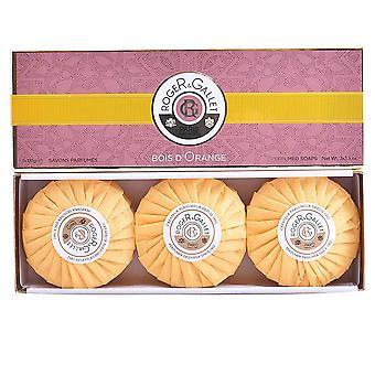 Roger & Gallet Bois d'orange Savons Parfumés 3 X 100 Gr unisexe