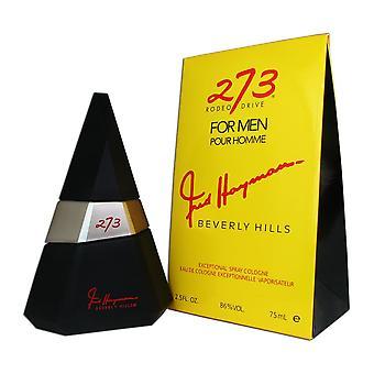 273 rodeo drive for men by fred hayman 2.5 oz eau de cologne spray