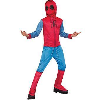 Déguisement classique Spider-Man Homecoming  avec couvre-bottes enfant