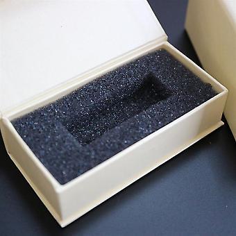 4 × صناديق هدية العرض المغناطيسي USB، كريم