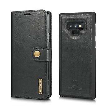 Mobile case Samsung Galaxy Note 9 with magnetic shell - Leather