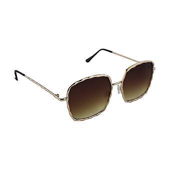 Sunglasses Ladies Square - Gold/BruinHL206_1