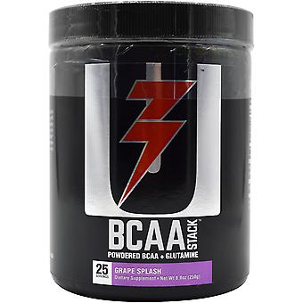 Universal Nutrition BCAA Stack Dietary Supplement - 250 Grams - Grape Splash